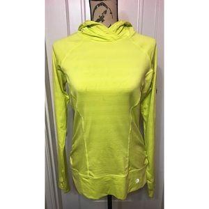 Neon Yellow Athletic Sweatshirt